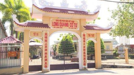 Chiêm ngưỡng báu vật chùa Long Quang