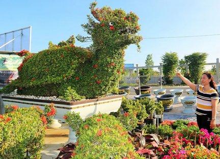 Thăm vườn kiểng thú lớn nhất Cần Thơ