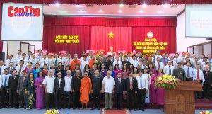 Đại hội đại biểu MTTQ Việt Nam TP Cần Thơ thành công tốt đẹp