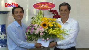 Lãnh đạo thành phố chúc mừng các cơ quan báo chí nhân Ngày Báo chí cách mạng Việt Nam