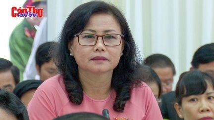 """Nhiều vấn đề """"nóng"""" đặt ra tại kỳ họp thứ 13 HĐND TP Cần Thơ"""