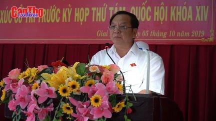 Đoàn Đại biểu Quốc hội đơn vị TP Cần Thơ tiếp xúc cử tri huyện Phong Điền