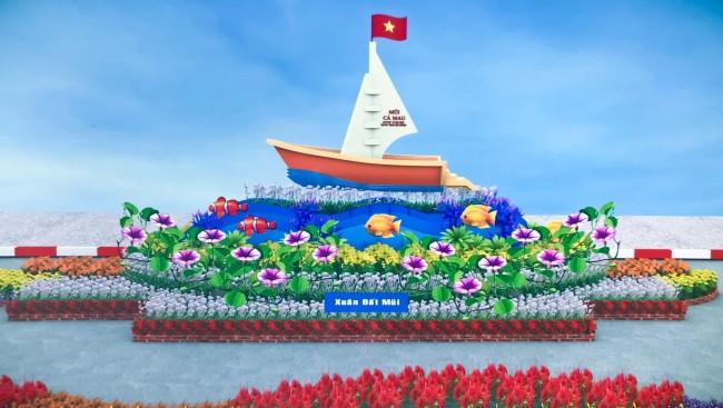 Xuân Đất Mũi với biểu tượng Mũi Cà Mau.