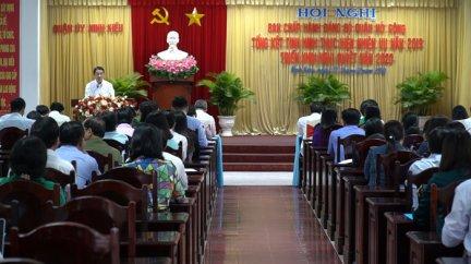 Quận ủy Ninh Kiều tổng kết tình hình thực hiện nhiệm vụ năm 2019
