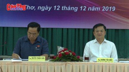 Lãnh đạo UBND TP Cần Thơ đối thoại với doanh nghiệp