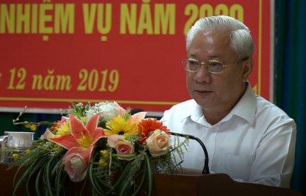 Đảng ủy Khối Cơ quan Dân Chính Đảng triển khai nhiệm vụ năm 2020