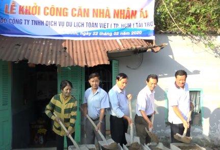 Báo Cần Thơ vận động xây dựng nhà nhân ái cho hộ nghèo tại phường Lê Bình