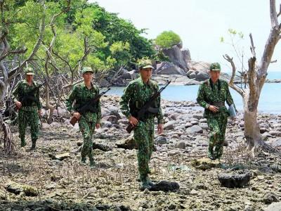 Tuổi trẻ Bộ đội Biên phòng Cà Mau xung kích trên biên giới biển