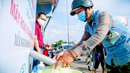 ATM gạo ở Cần Thơ tô đẹp thêm tình người Tây Đô