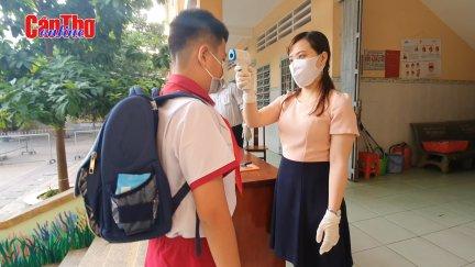 Đảm bảo an toàn đón học sinh trở lại trường học