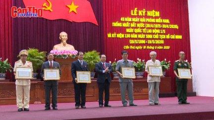 Cần Thơ Kỷ niệm 45 năm ngày Giải phóng miền Nam, 130 năm ngày sinh Chủ tịch Hồ Chí Minh