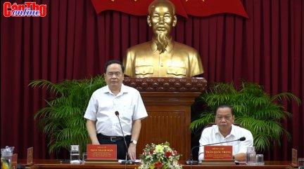 Trung ương kiểm tra công tác tổ chức Đại hội Đảng tại TP Cần Thơ