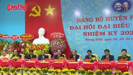 Đại hội Đại biểu Đảng bộ huyện Phong Điền lần thứ XII