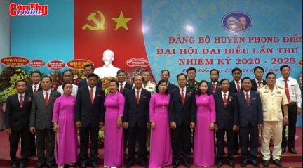 Đại hội Đại biểu Đảng bộ huyện Phong Điền thành công tốt đẹp