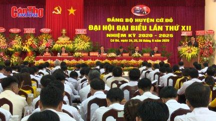 Đại hội Đại biểu Đảng bộ huyện Cờ Đỏ lần thứ XII
