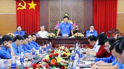 Hội nghị giao ban công tác Đoàn cụm Đồng bằng sông Hậu
