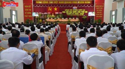 Đại hội đại biểu Đảng bộ huyện Thới Lai lần thứ XII