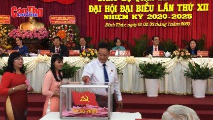 Đại hội đại biểu Đảng bộ quận Bình Thủy lần thứ XII