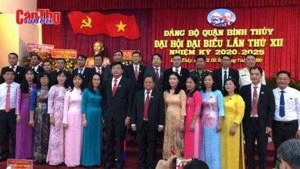Đại hội đại biểu Đảng bộ quận Bình Thủy thành công tốt đẹp