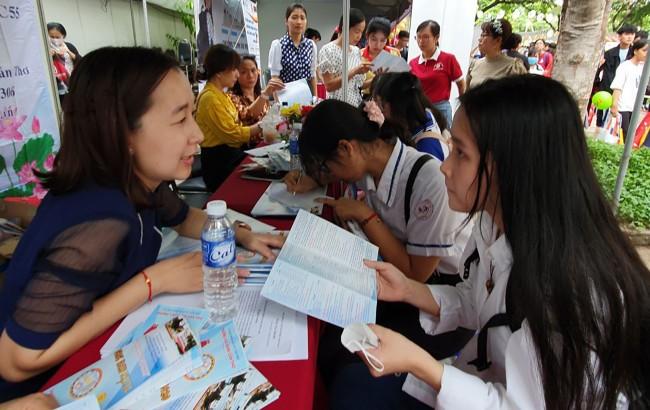 Trường Cao đẳng Cần Thơ thông tin các ngành tuyển sinh 2020 của trường tại Ngày hội Tư vấn tuyển sinh - hướng nghiệp năm 2020.