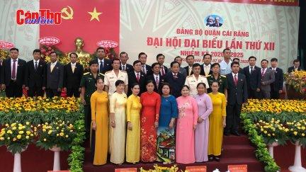Cái Răng ra mắt Ban Chấp hành Đảng bộ nhiệm kỳ 2020-2025