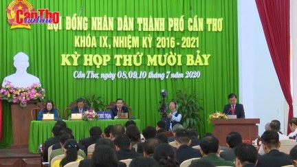 Khai mạc kỳ họp thứ 17 HĐND thành phố Cần Thơ Khóa IX