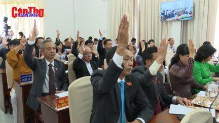 HĐND thành phố Cần Thơ thông qua 25 nghị quyết