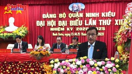 Đại hội đại biểu Đảng bộ quận Ninh Kiều lần thứ XII