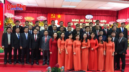 Đảng bộ quận Ninh Kiều ra mắt Ban Chấp hành nhiệm kỳ mới