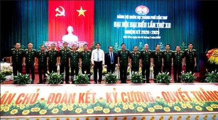 Tổ chức thực hiện Nghị quyết Đại hội Đảng bộ Quân sự thành phố đạt kết quả cao nhất