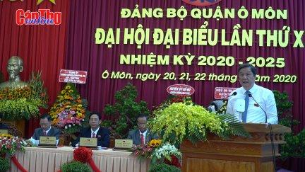 Đại hội Đại biểu Đảng bộ quận Ô Môn nhiệm kỳ 2020-2025