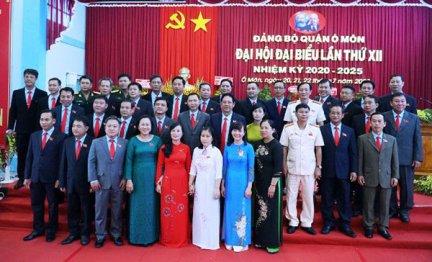 Đảng bộ quận Ô Môn tổ chức thành công Đại hội nhiệm kỳ 2020-2025