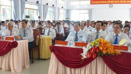 Đại hội Đại biểu Đảng bộ quận Thốt Nốt lần thứ XII