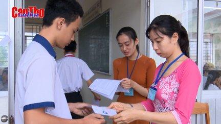 Cần Thơ bắt đầu kỳ thi tuyển sinh lớp 10 THPT năm học 2020-2021