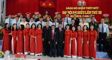 Đại hội Đại biểu Đảng bộ quận Thốt Nốt lần thứ XII thành công tốt đẹp