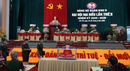 Đại hội Đại biểu Đảng bộ Quân khu 9 lần thứ X