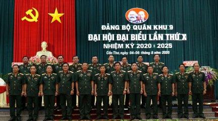 Bế mạc Đại hội Đại biểu Đảng bộ Quân khu 9 lần thứ X