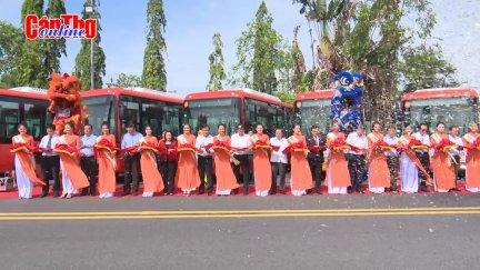 Khai trương 5 tuyến xe buýt chất lượng cao