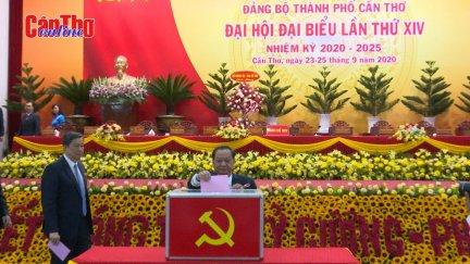 Khai mạc Đại hội Đại biểu Đảng bộ TP Cần Thơ nhiệm kỳ 2020-2025