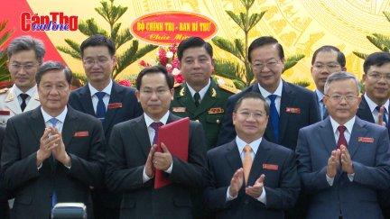 Đại hội Đại biểu Đảng bộ TP Cần Thơ nhiệm kỳ 2020-2025 thành công tốt đẹp