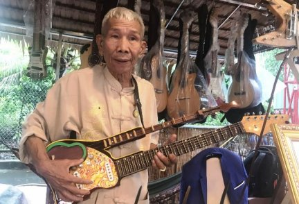 Bộ sưu tập nhạc cụ độc đáo của ông Chín Quý
