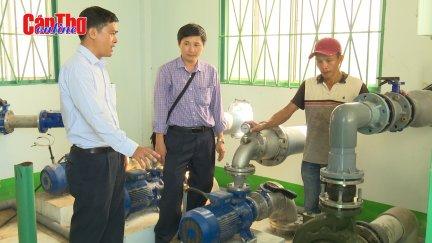 Ổn định cấp nước sạch cho người dân dịp Tết