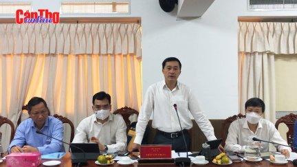 Bộ Y tế kiểm tra công tác phòng, chống dịch COVID-19 tại Cần Thơ