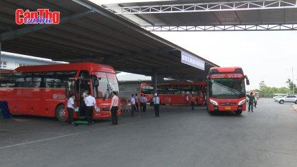 Đảm bảo phương tiện phục vụ hành khách đi lại dịp Tết