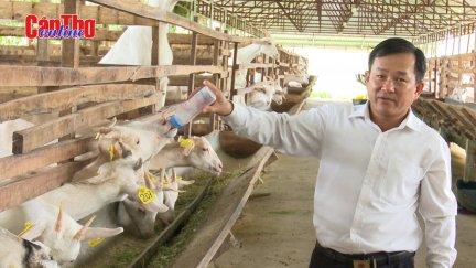 Độc đáo sản phẩm OCOP từ sữa dê