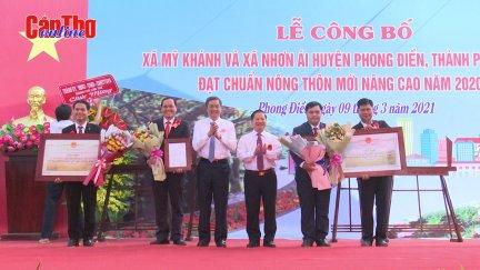 2 xã của huyện Phong Điền đạt chuẩn xã nông thôn mới nâng cao