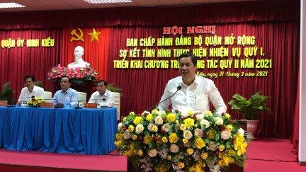 Ninh Kiều bám sát các chỉ tiêu phát triển kinh tế - xã hội năm 2021