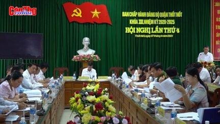 Thốt Nốt chú trọng công tác tổ chức, đẩy mạnh phát triển kinh tế - xã hội