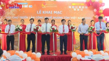 Khai mạc Hội chợ Triển lãm Công nghệ ngành tôm Việt Nam