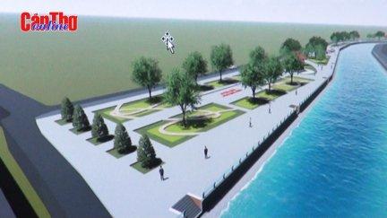 Sớm đầu tư xây dựng kè chống sạt lở sông Trà Nóc